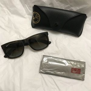 Ray-Ban Accessories - Unisex Ray-Ban Turquoise Justin Sunglasses